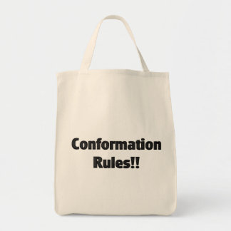 Conformation Rules Tote Bag