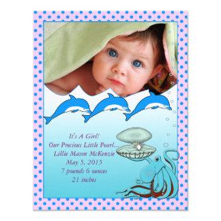 Conforme a la invitación de la niña del mar