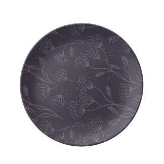 Conforme lúcido de la calidad de principios plato de cerámica