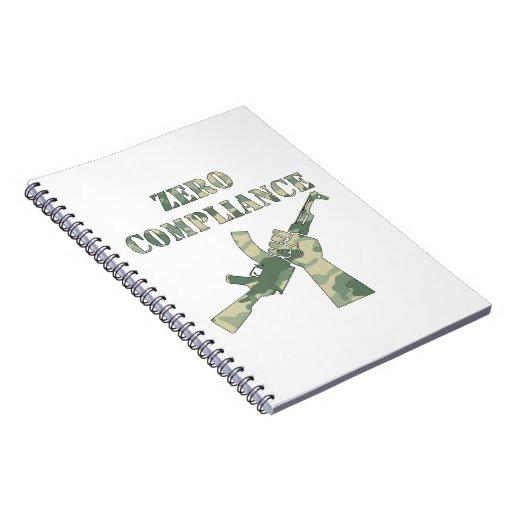 Conformidad cero AK47 Camo Libros De Apuntes