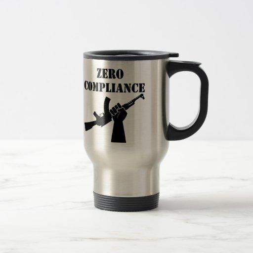 Conformidad cero AK47 Tazas De Café
