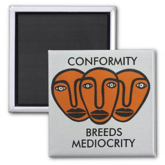 Conformity 2 2 inch square magnet