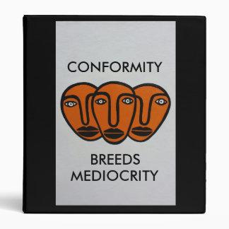 Conformity 2 3 ring binder