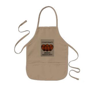 Conformity 2 kids' apron
