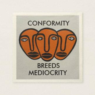 Conformity 2 paper napkin