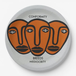 Conformity 2 paper plate