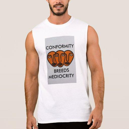 Conformity 2 sleeveless t-shirts Tank Tops, Tanktops Shirts