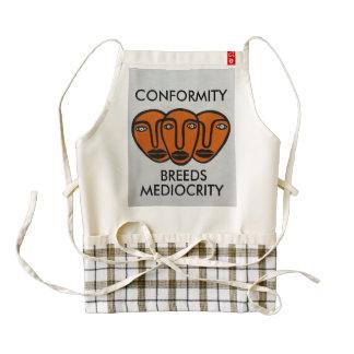 Conformity 2 zazzle HEART apron