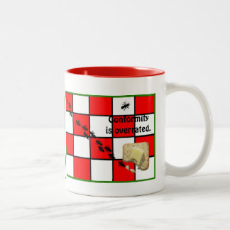 Conformity is Overrated Two-Tone Coffee Mug