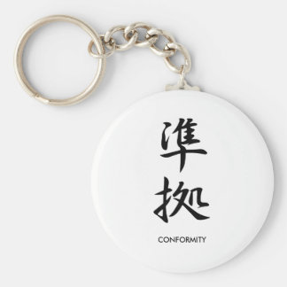 Conformity - Junkyo Keychains