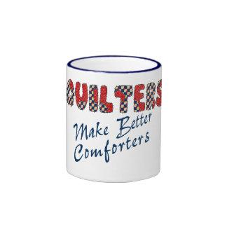 Confortar Quilters Taza A Dos Colores