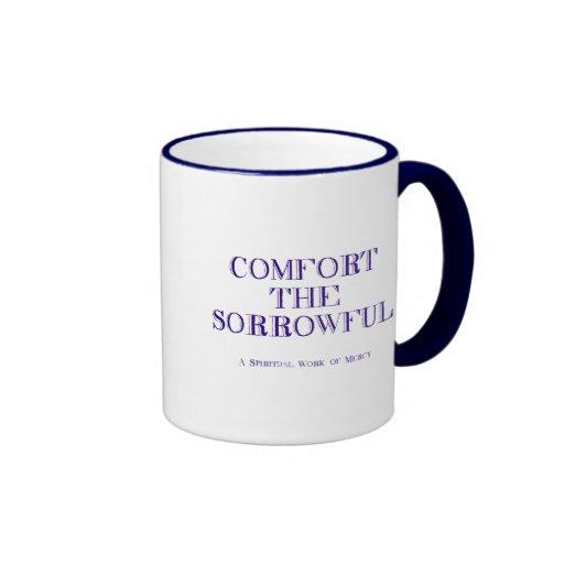 Conforte el triste taza de dos colores