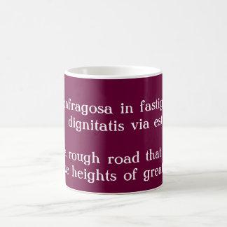 Confragosa in fastigium coffee mug