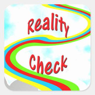 Confrontación con la realidad - pegatina