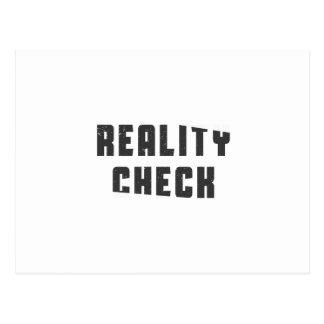 Confrontación con la realidad postales