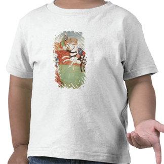 Confrontación de dos caballeros ante el rey camisetas