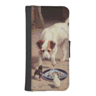 Confrontación Funda Tipo Billetera Para iPhone 5