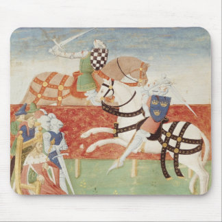 Confrontation of Two Knights before the King Mouse Pad