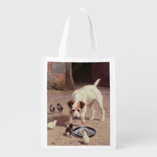 Confrontation Grocery Bag