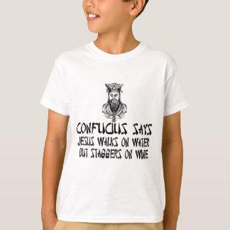 Confucio ateo playera