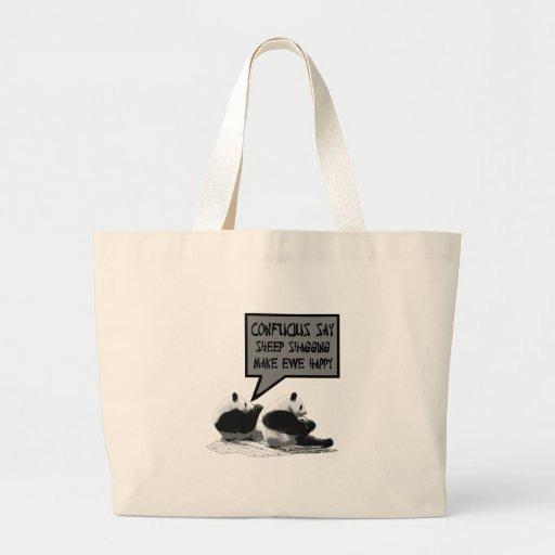 Confucio dice bolsas