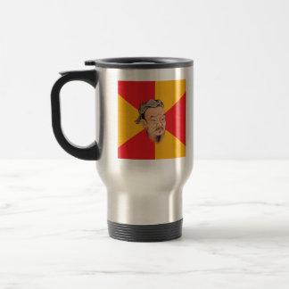 Confucio dice taza de viaje