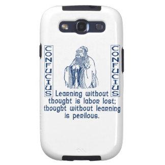 Confucio Samsung Galaxy S3 Carcasa