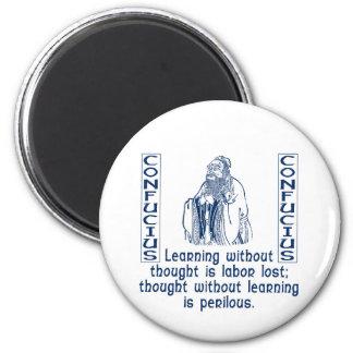 Confucius 2 Inch Round Magnet