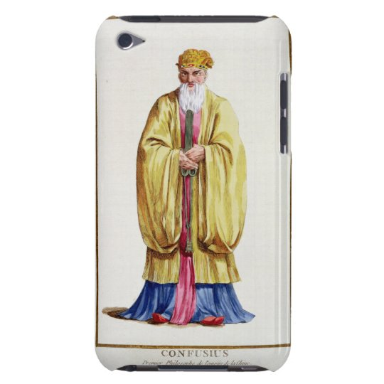 Confucius (551-479 BC), from 'Receuil des Estampes Barely There iPod Case