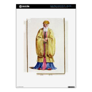 Confucius (551-479 BC), from 'Receuil des Estampes iPad 3 Skin