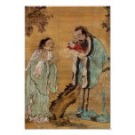 Confucius and Buddha Posters