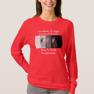 Confucius darkness into light Chinese Philosopher T-Shirt