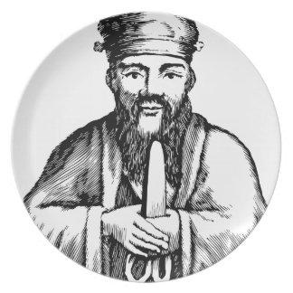 Confucius Dinner Plate
