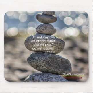 Confucius: Golden Rule Series Mouse Pad