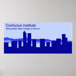 Confucius Institute in Denver Poster