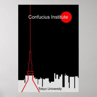 Confucius Institute in Tokyo Poster