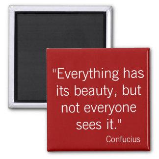 Confucius Fridge Magnet