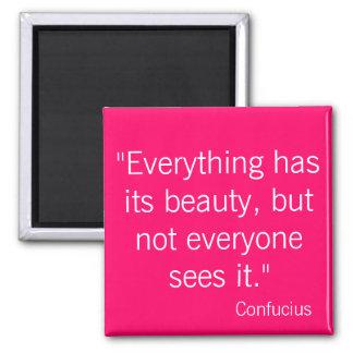 Confucius Magnet