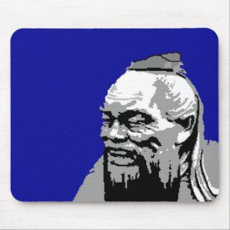 Confucius Portrait - Confucius Institute Mouse Pad
