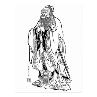 Confucius Post Card