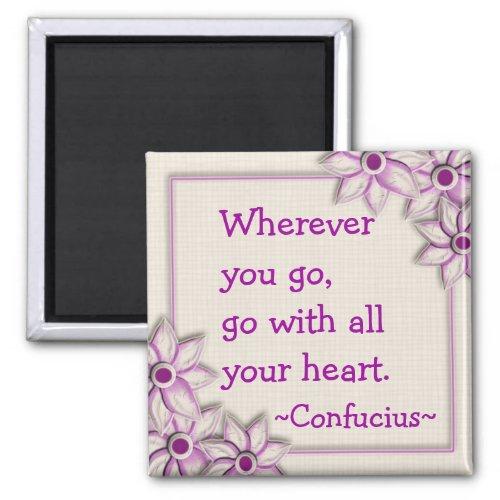 Confucius Quotation (1)- Motivational Magnet