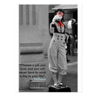 Confucius' Quote Postcard