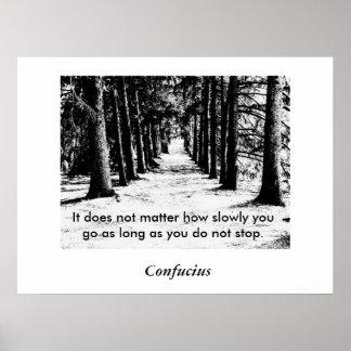Confucius Quote - Poster Posters
