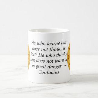 Confucius Quote  -  wearable wisdom Coffee Mug