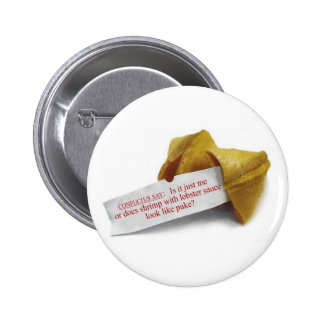 Confucius Say Fortune Cookie button