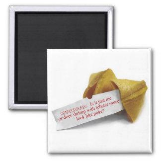 Confucius Say Fortune Cookie fridge magnet