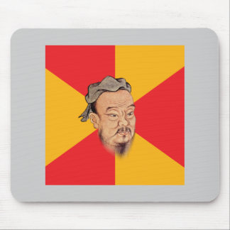 Confucius Say Mouse Pad