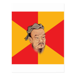 Confucius Say Postcard