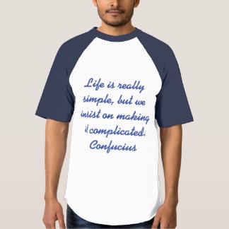 Confucius saying t-shirt