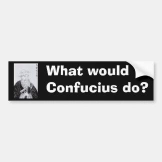 Confucius_the_scholar Bumper Sticker